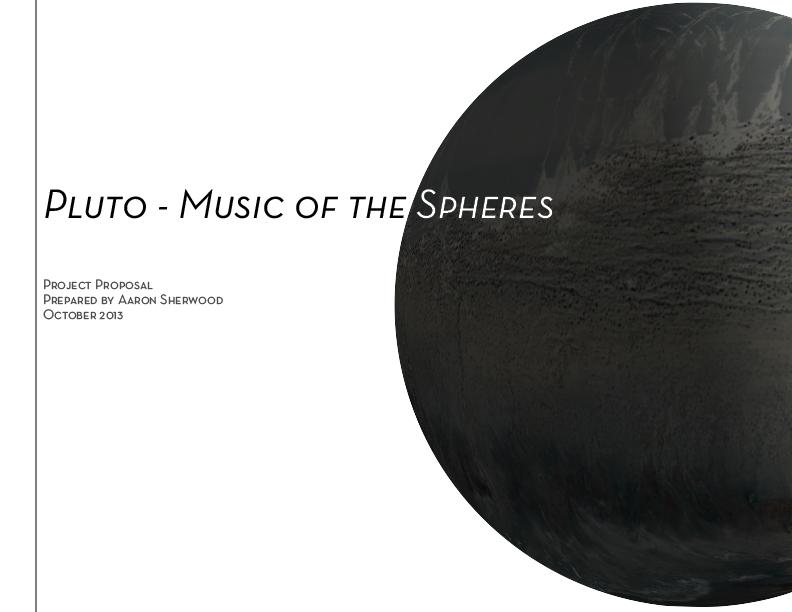 Pluto Proposal