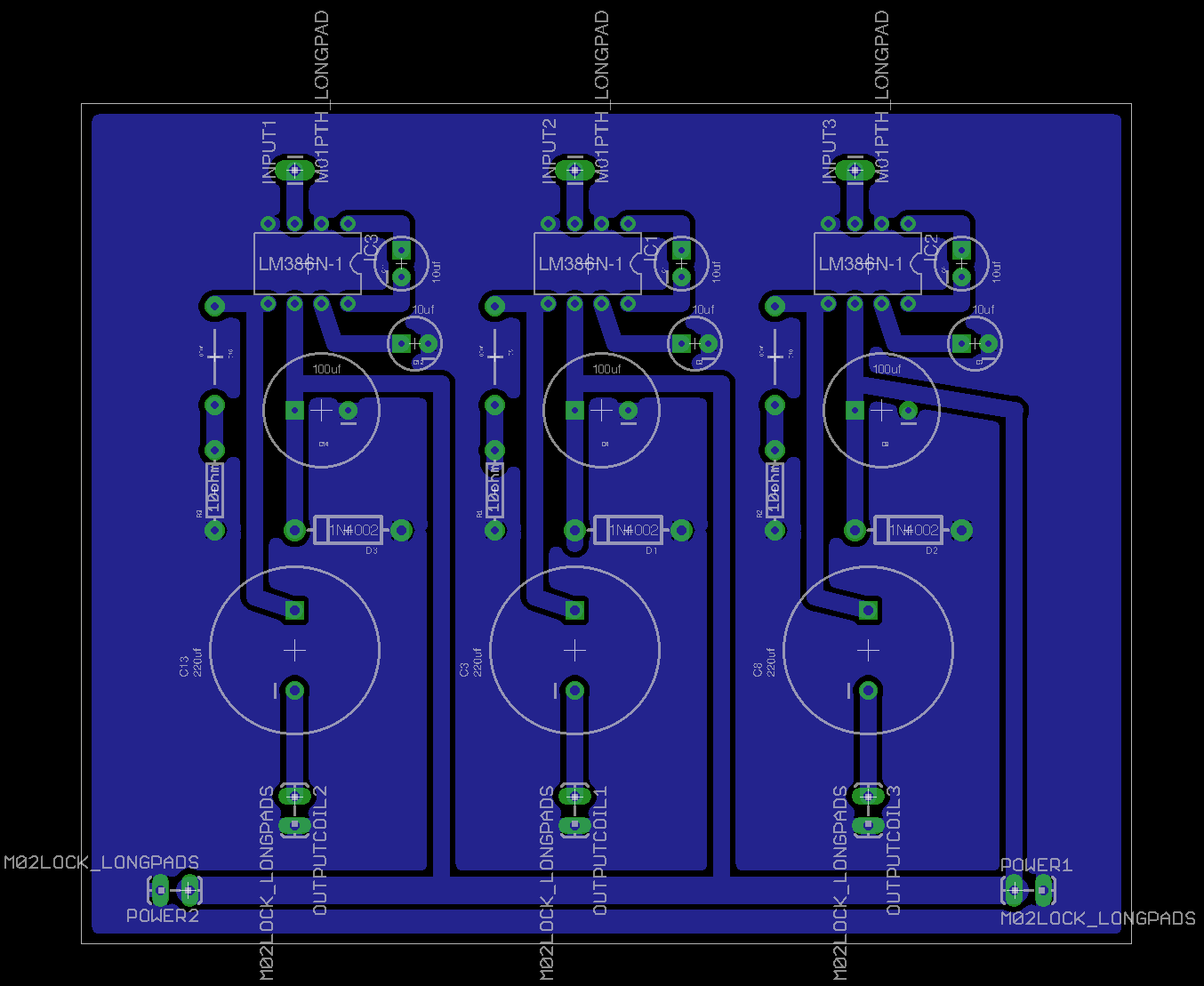 Aaron Sherwood Blog Here Is The Circuit Schematic For Board Schematicmagnetophone 3ampsbrd